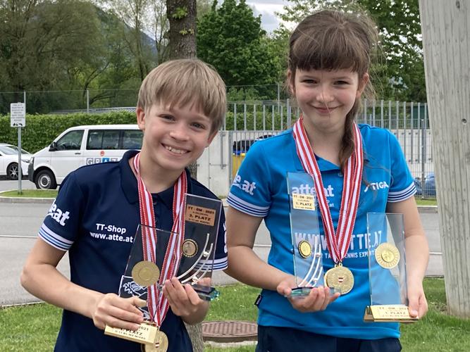 2x Gold & 2x Bronze für Mariia und Jonas