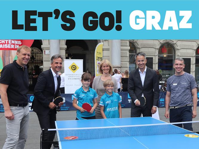 Graz sucht seinen Tischtennis-Kaiser