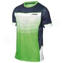 T-Shirt River, lime green