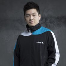 Tracksuite Jacket Ocean, black/blue/white