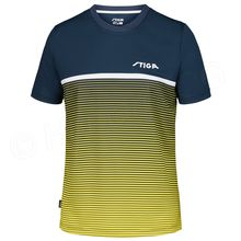 Shirt Lines, blue/yellow
