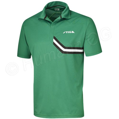 Shirt Conquer; green/black