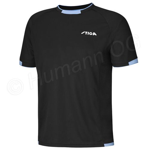 Shirt Capture; black/blue