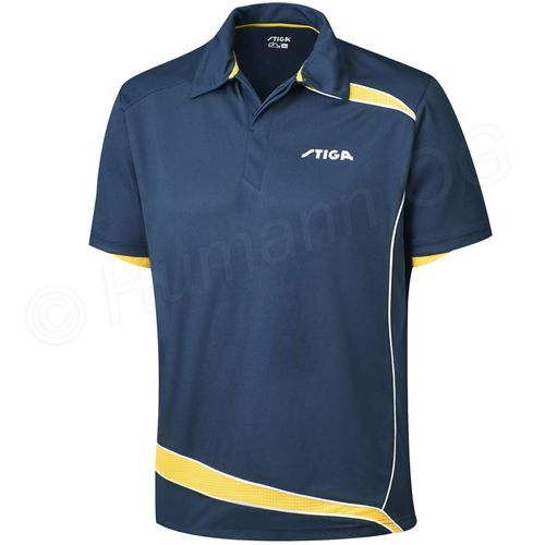 Shirt Discovery, navy/yellow