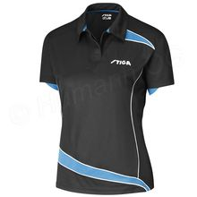 Shirt Discovery Lady, black/diva blue