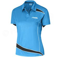 Shirt Discovery Lady, diva blue/ black