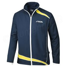 Tracksuit jacket Apollo, navy/yellow